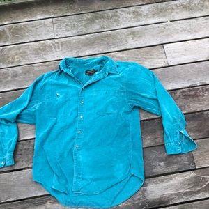 Vintage Eddie Bouer Button Up Green Size L